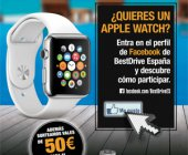 BestDrive regala un Apple Watch a sus seguidores de Facebook
