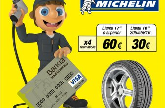 Confortauto regala hasta 60€ con Michelin