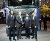 Hankook, equipo original de Scania