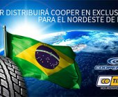 Tiresur distribuirá Cooper en exclusiva en Brasil