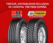 Tiresur distribuirá Uniroyal en exclusiva