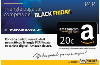 Tiresur se une al Black Friday regalando tarjetas Amazon