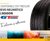 Tiresur ya distribuye en exclusiva el nuevo neumático All Season de GT Radial